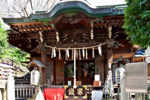 小野照崎神社-拝殿