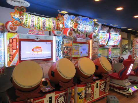 ゲームセンター 大江戸温泉