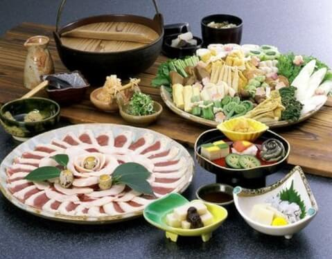 京都 旅館 宿泊 大原温泉 芹生 食事