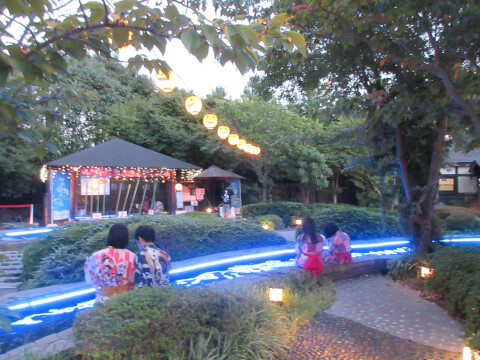 足湯 庭園
