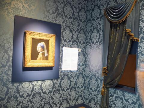 真珠の耳飾りの少女 フェルメール  大塚国際美術館