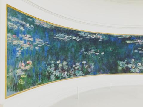 パリ 観光 オランジュリー美術館