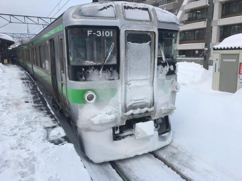 小樽駅_電車