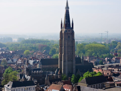 ourlday ベルギー ブルージュ 聖母教会