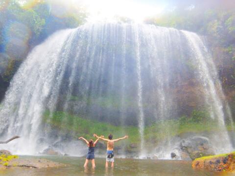 パラオ観光 ガラスマオの滝