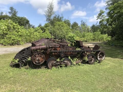 パラオ ペリリュー島 戦車