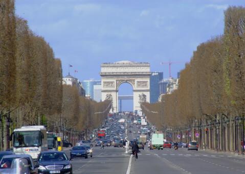 シャンゼリゼ通りの画像