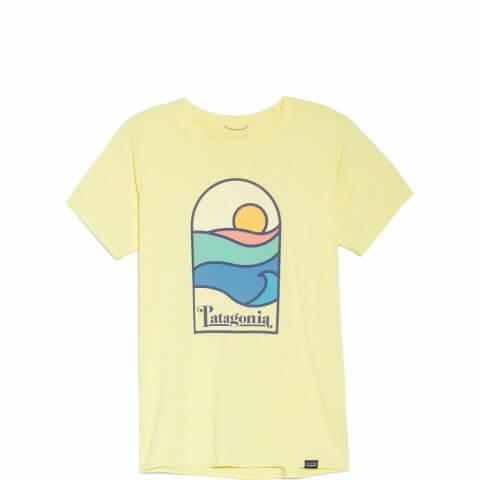 パタゴニア キャプリーン デイリー グラフィック tシャツ