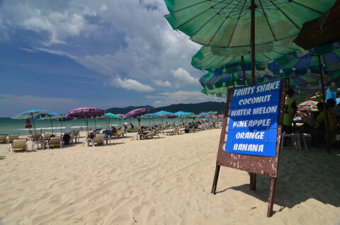 パトンビーチ プーケット