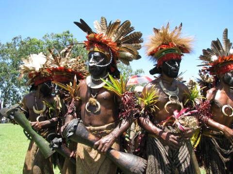 パプア インドネシア ニューギニア島