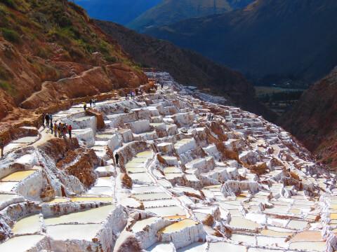 ペルー 観光 マラス塩田