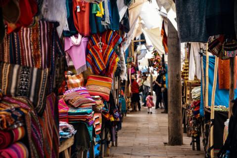 ペルーの観光地、クスコ