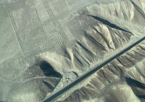ペルーの人気観光地、ナスカの地上絵
