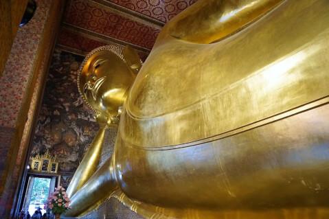 涅槃仏 タイ ワットポー バンコク