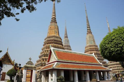 ワットポー タイ 観光 バンコク