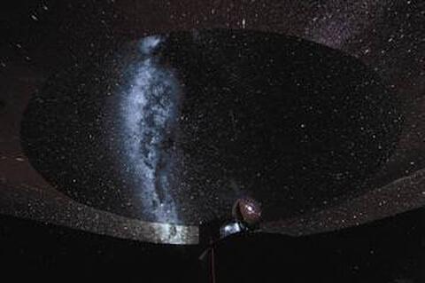 プラネタリウムBAR-天井