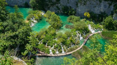 plitvice クロアチア プリトヴィッツェ 観光 プリトヴィッツェ湖群国立公園
