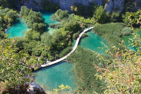 クロアチア プリトヴィッツェ湖群国立公園