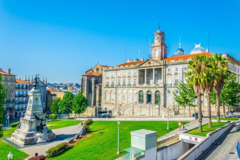 ポルトガルのおすすめ観光地、ボルサ宮殿