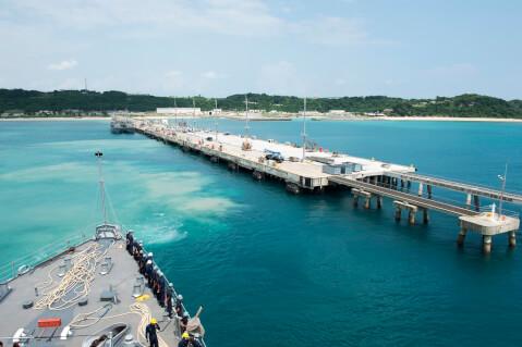ペリリュー島 パラオ 船着き場