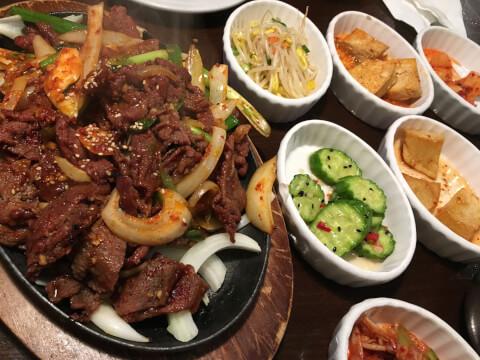 プルコギ 韓国料理