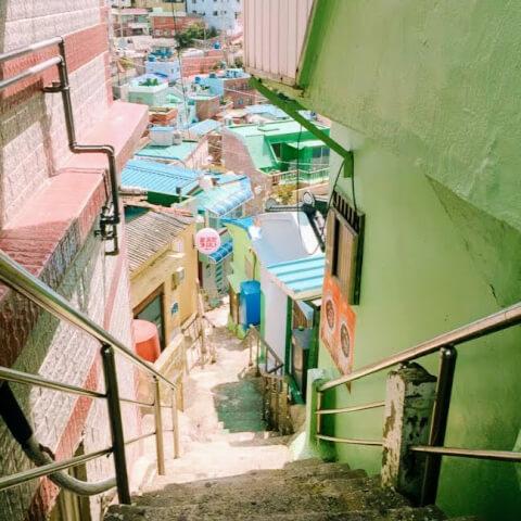 釜山 観光 甘川文化村