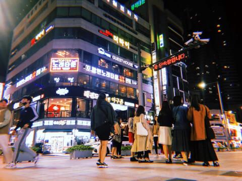 釜山 夜 観光