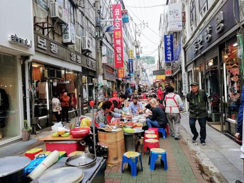 釜山 南浦洞 観光