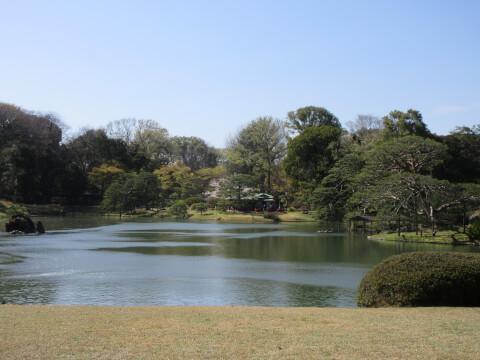 六義園 景色