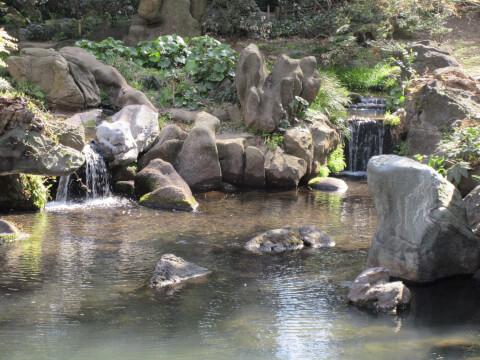 滝見茶屋 六義園