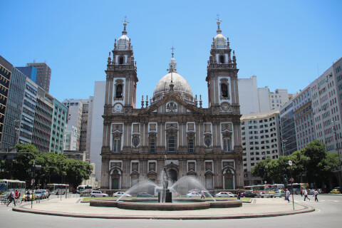 rio-cande カンデラリア教会 リオデジャネイロ