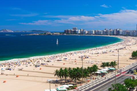 リオデジャネイロのおすすめ観光スポット、イパネマビーチ