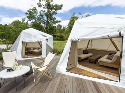 リソルの森テント