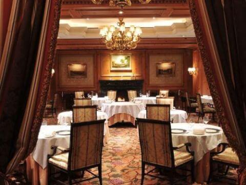 リッツカールトンレストラン1