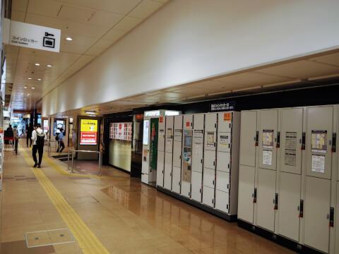 金沢百番街 金沢駅 コインロッカー
