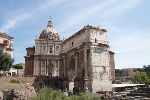セプティミウス・セヴェルスの凱旋門