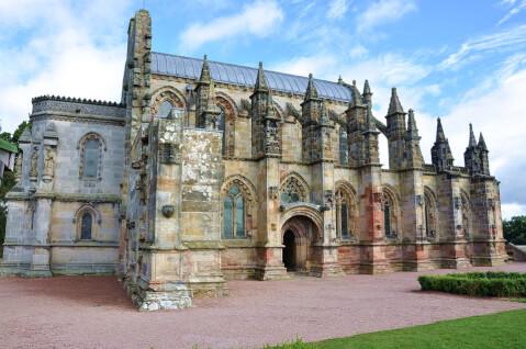 スコットランド エディンバラ 観光 ロスリン礼拝堂