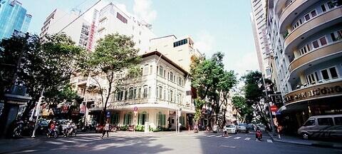 Rue Catinat ベトナム ホーチミン 観光