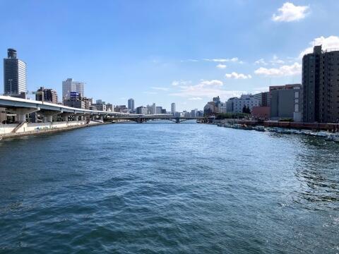 隅田川テラス近くの橋