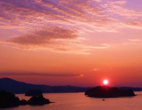 ホテル竜宮夕陽