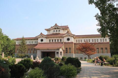 サハリン州郷土博物館 Cахали́нский государственный областно́й краеве́дческий музе́й ロシア 観光