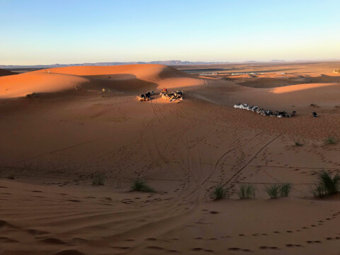 サハラ砂漠の気候