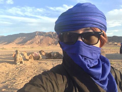 砂漠 サングラス