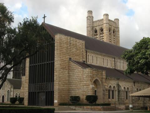 saint ハワイ ホノルル セントアンドリュース大聖堂