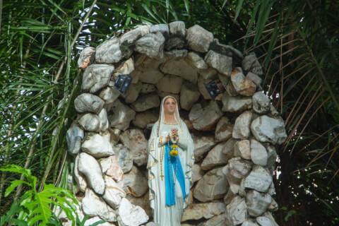 サイパン、聖母マリアの祠