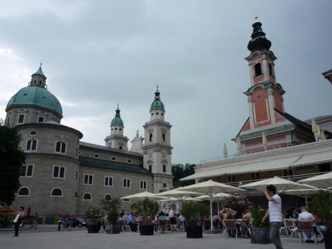 モーツァルト広場