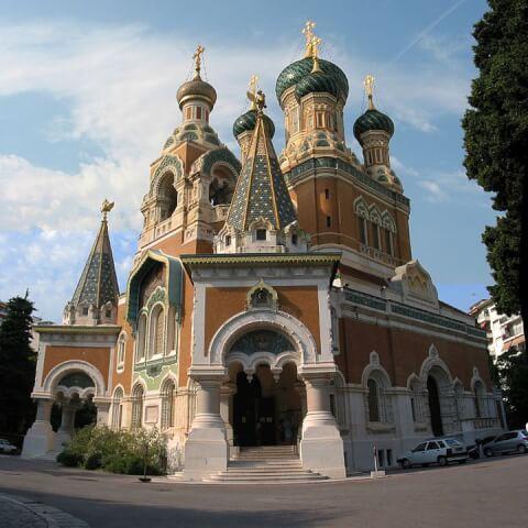 サン・ニコラロシア正教会大聖堂(Cathedrale Orthodoxe Russe St-Nicolas a Nice)