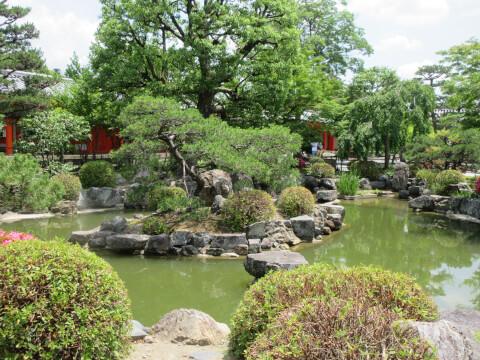 三十三間堂 庭園