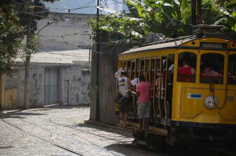 santa サンタテレサの丘 路面電車