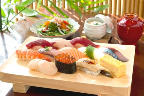 築地玉寿司 ささしぐれ ランチ